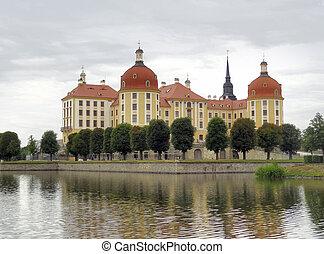 Moritzburg Castle - the Moritzburg Castle, a Baroque Palace...