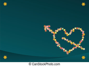 Valentine Background Vector Art