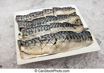 Salted fish - A Marinated salted fish with on ice