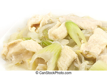 Chicken and Soybean Chow Mein - Chicken and Soybean Chow...
