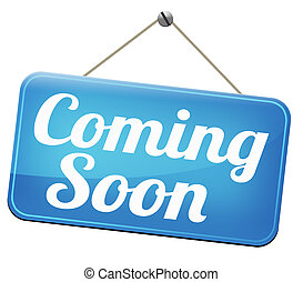 coming soon brand new product release next up promotion and...