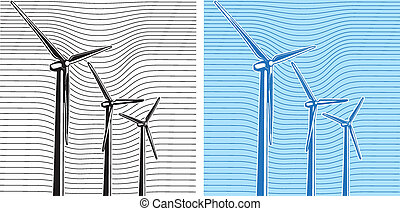 Wind Turbines - composition of wind turbines
