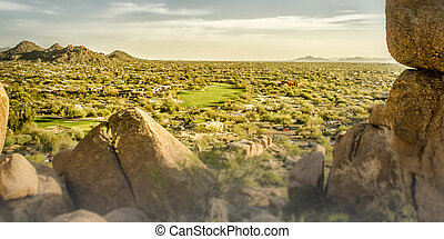 Scottsdale, golf course,USA