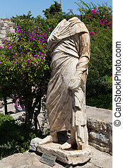 Roman Governor Sculpture in Bodrum Castle, Turkey