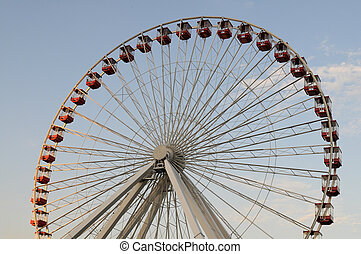 Ferris wheel, Navy Pier, Chicago, Illinois