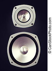 Two Way Big Audio Stereo Loud Speaker