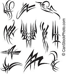 Tribal Tattoo linework - Tribal Tattoos