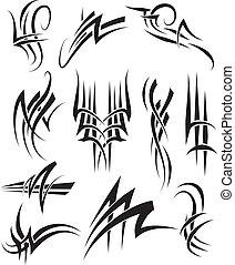 Tribal Tattoo linework - Tribal Tattoos
