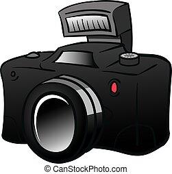 digital camera illustration