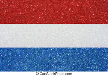 ensign netherlands - the ensign of the netherlands made of...