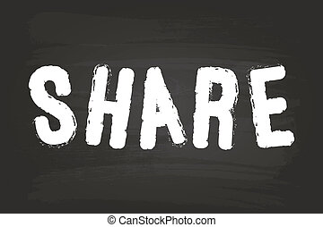 Share Word Sign