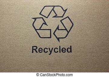 reciclado, logotipo