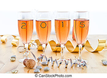 Champagne for New Year's - Rose Champagne for New Year's Eve...