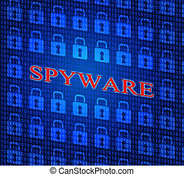 Hacked Spyware Shows Hacking Cyber And Theft - Spyware...