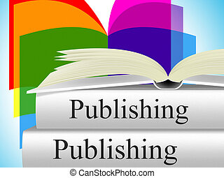 Books Publishing Shows Editor Media And Non-Fiction - Books...