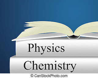 Chemistry Physics Means Non-Fiction Science And Chemicals -...