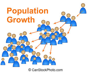 Population Growth Shows Family Reproduction And Expecting -...