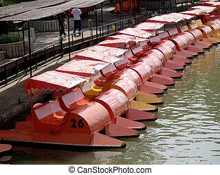duck boat Swan Pedal boat