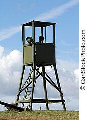 War watchtower - Watchtower for surveillance during war