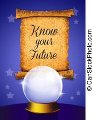 know your future - illustration of know your future