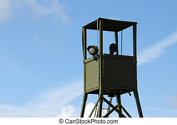 War watchtower  - Watchtower for surveillance during war