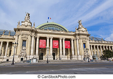 Paris - PARIS, FRANCE - August 9: The Grand Palais on August...