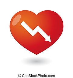 Heart with a graph