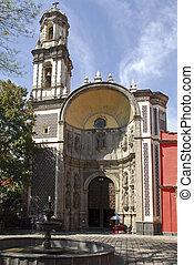 Templo de la Santa veracruz - Santa veracruz Church in...