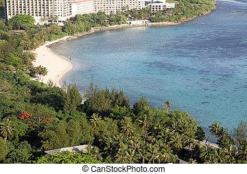 Tumon Beach in Guam