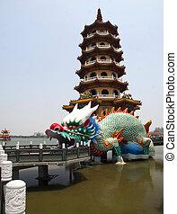 Dragon Tower in Taiwan