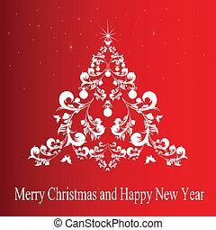 Christmas wreath;