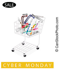Builder Tools in Cyber Monday Shopping Cart - A Shopping...