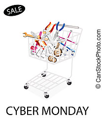 Auto Repair Tool Kits in Cyber Monday Shopping Cart -...