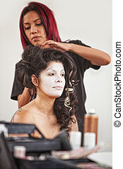 Makeup Artist and Pretty Performer - Native American makeup...