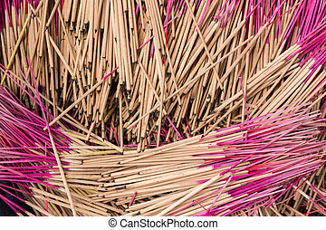 pattern of joss stick.