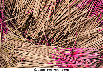 pattern of joss stick.