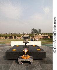 Raj Ghat - Mahatma Gandhi Crematorium Site - RAJ GHAT,...