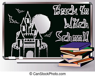 Back to Witch School. magic