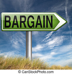 bargain - special price and sales bargain and best offer and...
