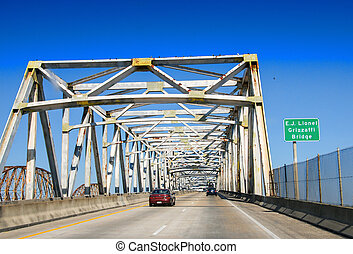 Grizzaffi Bridge is a cantilever bridge in the U.S. state of...