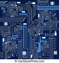 Electronic circuit background