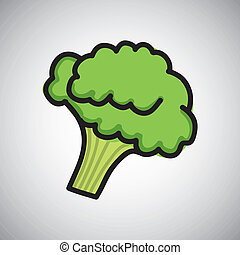 cauliflower Vector - cauliflower graphic design Vector...