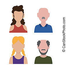 people design graphic ,vector illustration