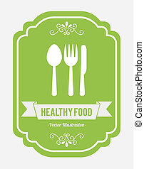 healthy food design , vector illustration