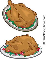 Turkey dinner - Roasted Turkey or chicken dinner