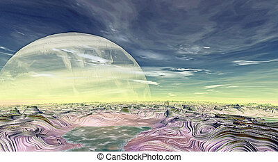 Stranger planets - Abstract unknown planets are in deep...