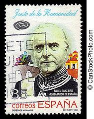 anjo, Sanz-Briz, Espanhol, diplomata