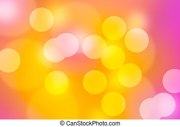 Spring or summer abstract nature background