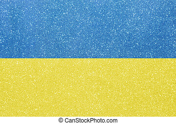 ensign ukraine - the ensign of ukraine made of twinkling...