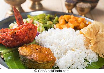 Close up Indian mixed rice